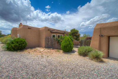 Placitas Single Family Home For Sale: 43 Dusty Trail Drive