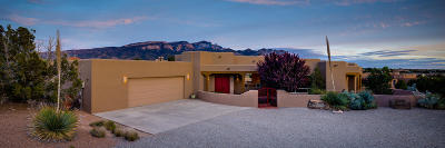 Placitas Single Family Home For Sale: 8 Desert Mountain Road