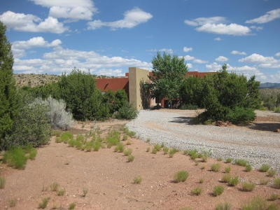 Placitas Single Family Home For Sale: 144 Diamond Tail Road