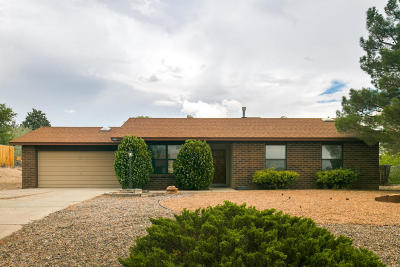 Rio Rancho Single Family Home For Sale: 834 Ivory Road SE