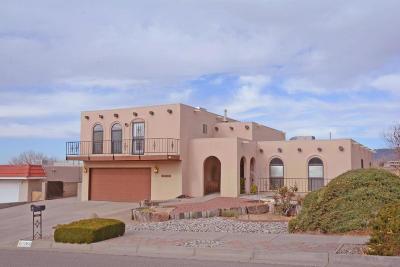 Single Family Home For Sale: 12905 Arroyo De Vista NE