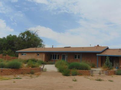 Corrales Single Family Home For Sale: 314 Davey Road