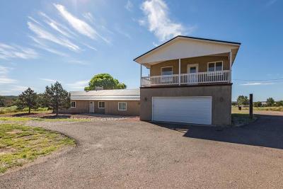 Tijeras, Cedar Crest, Sandia Park, Edgewood, Moriarty, Stanley Single Family Home For Sale: 40 Joe Nestor Road