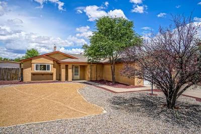Rio Rancho Single Family Home For Sale: 6497 Gambel Quail Road NE