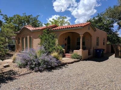 Albuquerque Single Family Home For Sale: 215 Bryn Mawr Drive SE