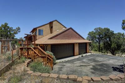 Tijeras, Cedar Crest, Sandia Park, Edgewood, Moriarty, Stanley Single Family Home For Sale: 8 High Country Drive