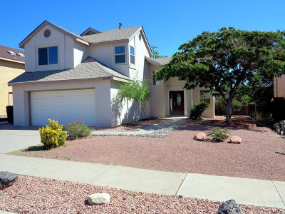 Albuquerque Single Family Home For Sale: 5312 Tamariz Drive NW