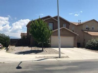 Albuquerque Single Family Home For Sale: 400 Desert Tree Drive SW