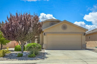 Rio Rancho Single Family Home For Sale: 408 Peaceful Meadows Drive NE
