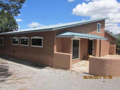 Sandia Park Single Family Home For Sale: 54 Skyline Drive