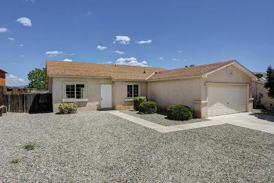Albuquerque Single Family Home For Sale: 1508 Secret Valley Drive SW