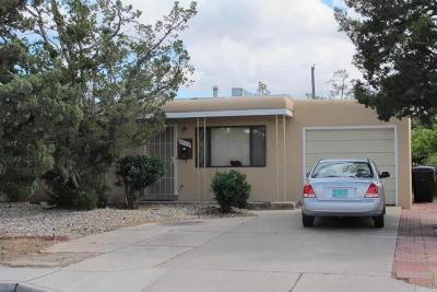 Albuquerque Single Family Home For Sale: 9308 Luthy Circle NE