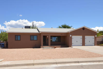 Albuquerque Single Family Home For Sale: 2124 Erbbe Street NE