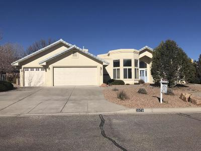 Albuquerque, Rio Rancho Single Family Home For Sale: 2373 Manzano Loop NE