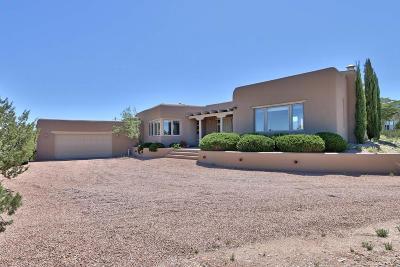 Placitas Single Family Home For Sale: 146 Camino Barranca