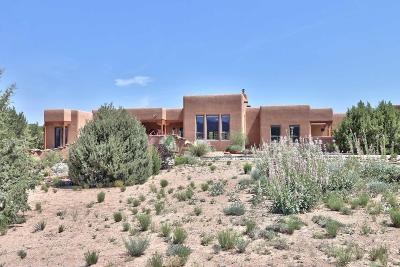 Placitas Single Family Home For Sale: 162 Windmill Trail