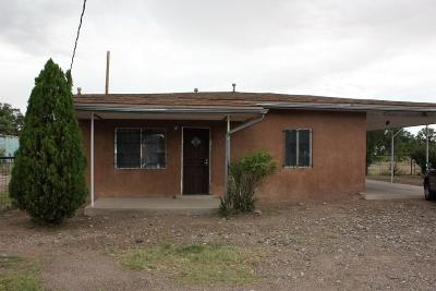 Valencia County Single Family Home For Sale: 1239 River Road