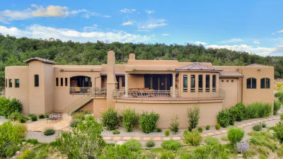 Tijeras, Cedar Crest, Sandia Park, Edgewood, Moriarty, Stanley Single Family Home For Sale: 44 Canon Escondido
