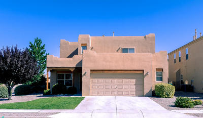Albuquerque, Rio Rancho Single Family Home For Sale: 1468 Jemez Loop NE