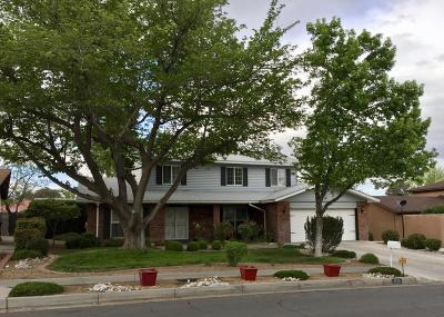 Albuquerque Single Family Home For Sale: 6616 Leander Avenue NE