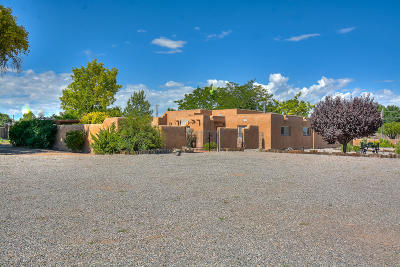Espanola Single Family Home For Sale: 39 Ra County Rd 114, La Mesilla