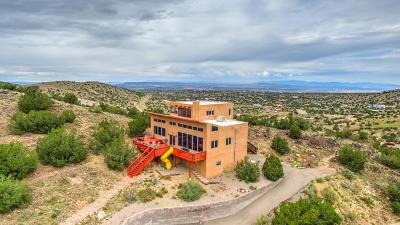 Placitas Single Family Home For Sale: 75 Camino De Las Huertas