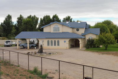 Valencia County Single Family Home For Sale: 171 La Ladera Road