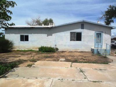 Valencia County Single Family Home For Sale: 13 Proctor Drive # B