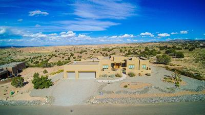 Placitas Single Family Home For Sale: 12 Mimbres Court