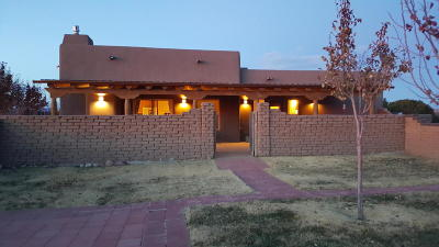 Placitas Single Family Home For Sale: 12 Toad Road