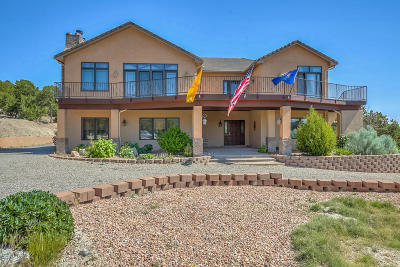 Tijeras, Cedar Crest, Sandia Park, Edgewood, Moriarty, Stanley Single Family Home For Sale: 387 Sedillo Road