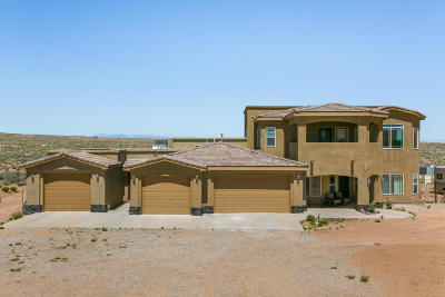 Rio Rancho Single Family Home For Sale: 3731 Kaiser Road NE