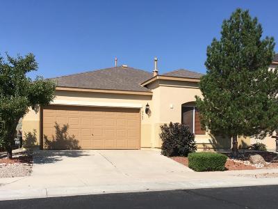 Albuquerque Single Family Home For Sale: 2907 Cabral Trail SW