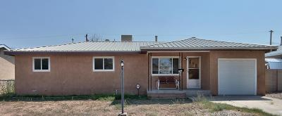 Valencia County Single Family Home For Sale: 1613 Edith Drive