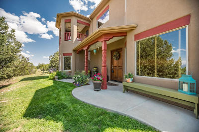 Tijeras, Cedar Crest, Sandia Park, Edgewood, Moriarty, Stanley Single Family Home For Sale: 34 Vista Encantada Drive