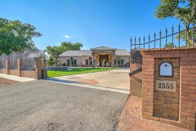 Albuquerque Single Family Home For Sale: 2555 Chanate Avenue SW