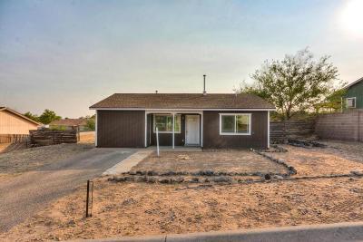 Rio Rancho Single Family Home For Sale: 4696 Platinum Drive NE