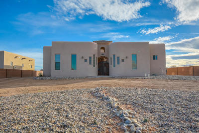 Rio Rancho Single Family Home For Sale: 6410 Oersted Road NE