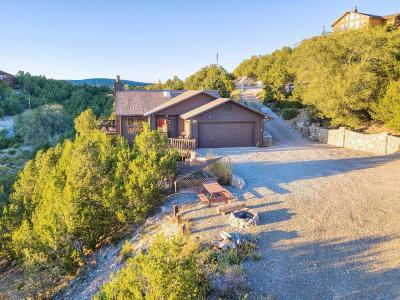 Tijeras, Cedar Crest, Sandia Park, Edgewood, Moriarty, Stanley Single Family Home For Sale: 6 La Vuelta Road