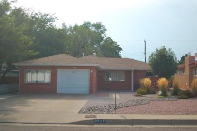 Albuquerque Single Family Home For Sale: 2717 Mesilla Street NE