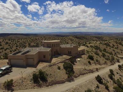 Placitas Single Family Home For Sale: 90 Camino Halcon