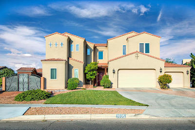 Rio Rancho Single Family Home For Sale: 1605 Western Hills Drive SE