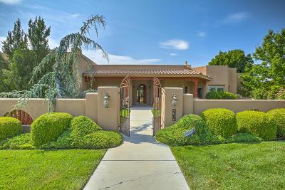 Los Ranchos Single Family Home For Sale: 4616 Los Poblanos Circle NW