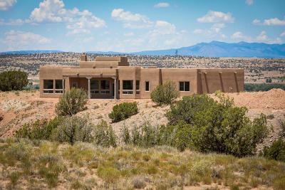Placitas Single Family Home For Sale: 25 Pueblo Bonito