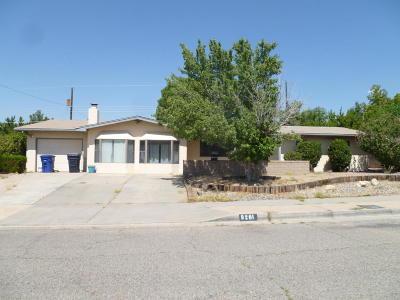 Albuquerque Single Family Home For Sale: 9201 Lagrima De Oro Road NE
