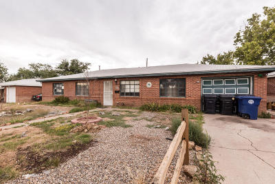 Albuquerque Single Family Home For Sale: 8007 Indian School Road NE