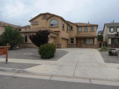 Rio Rancho Single Family Home For Sale: 1217 Sidewinder Road NE