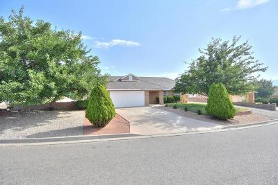 Rio Rancho Single Family Home For Sale: 2562 Withington Peak Drive NE