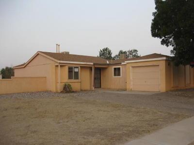 Rio Rancho Single Family Home For Sale: 1816 Jeffrey Road NE