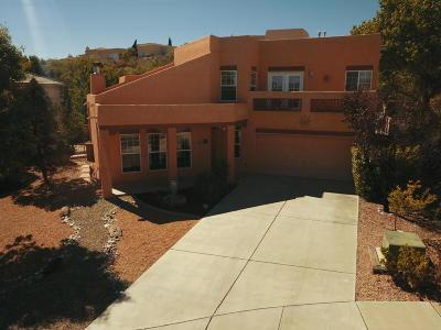 Albuquerque Single Family Home For Sale: 5509 Pegasus Place NW